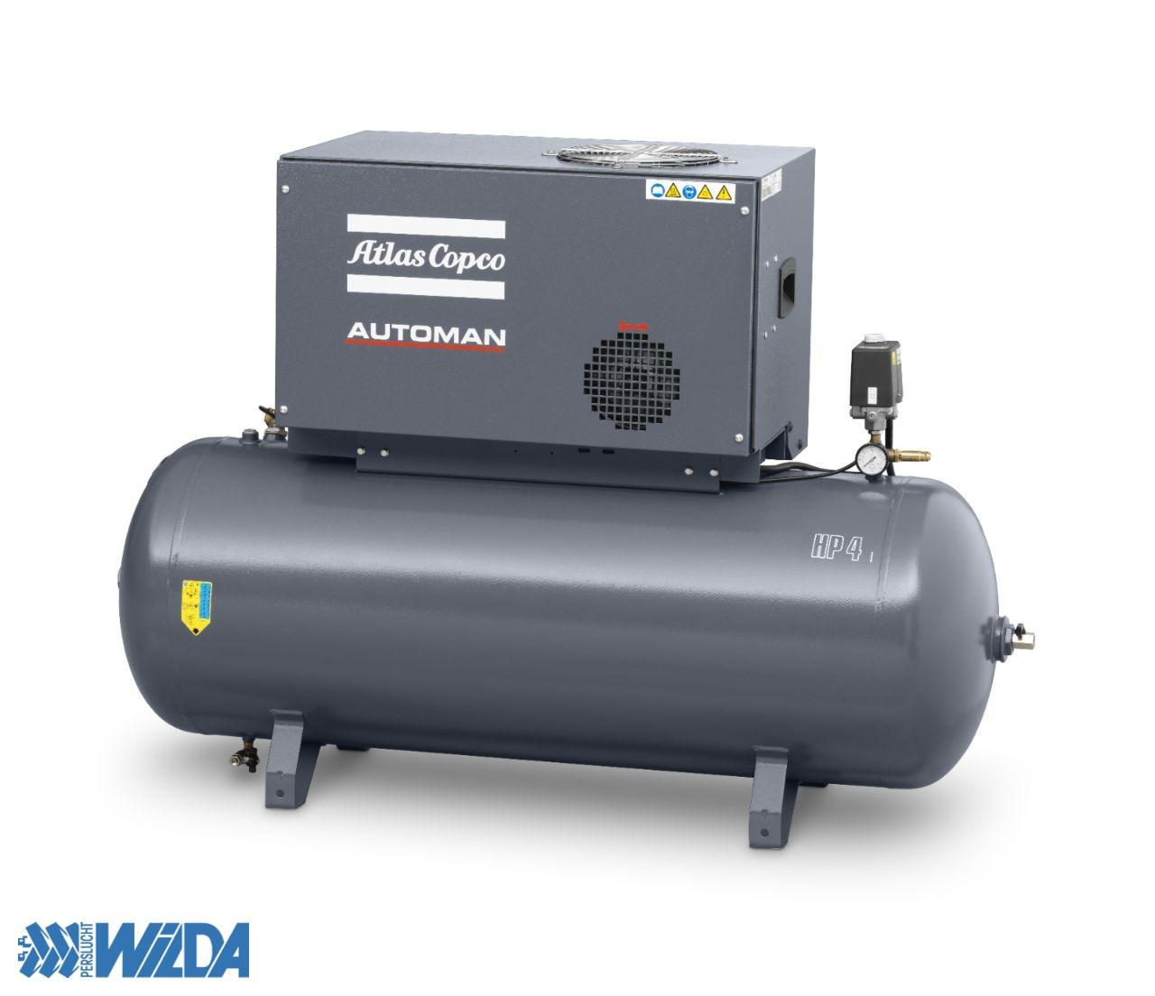 Werkplaats-compressor-Atlas-Copco-Automan-AC-55-T-3-fasen
