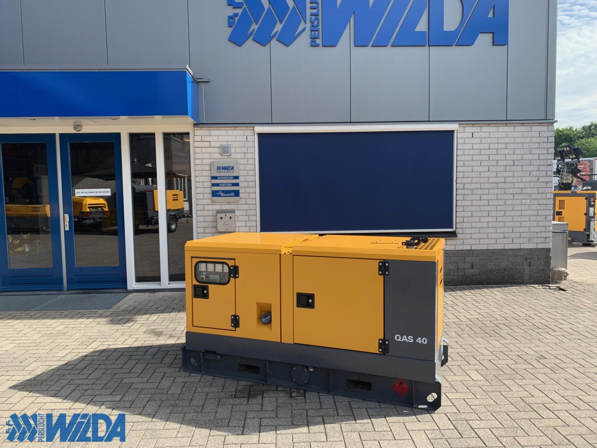 Tweedehands-generator-Atlas-Copco-QAS-40