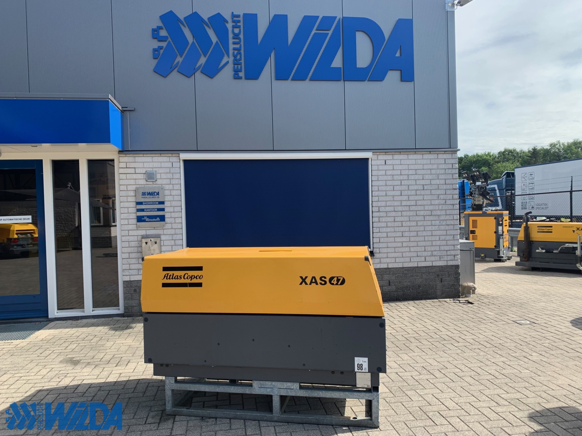 Tweedehands-Atlas-Copco-XAS-47-Kd