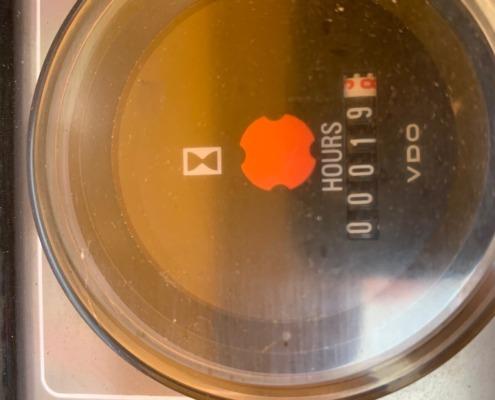 Tweedehands-compressor-Atlas-Copco-XAS-47-Dd-urenmeter